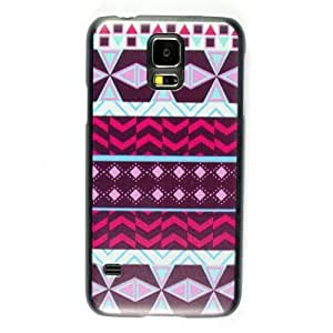 Aztec Tribal Thin Hard Plastic Case Cover For Samsung Galaxy S5 S 5 SV SM-G900F i9600