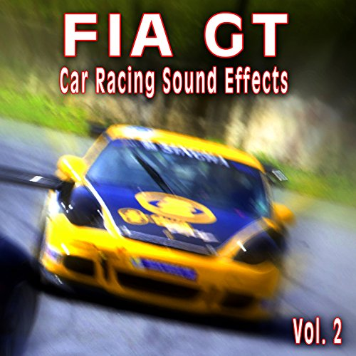 Racing Sound Effects - Fia Gt Car Racing Sound Effects, Vol. 2