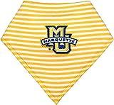 Marquette University Golden Eagles Striped Baby Bandana Bib