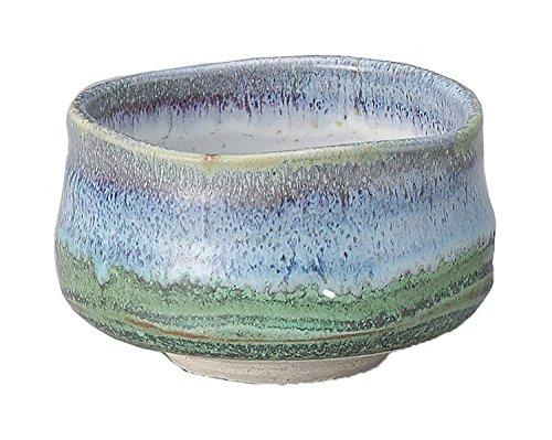 Yamakiikai Japanese Tea cup Matcha Bowl Deep Sea pattern M1730 From Japan (Porcelain China Japan Plates)