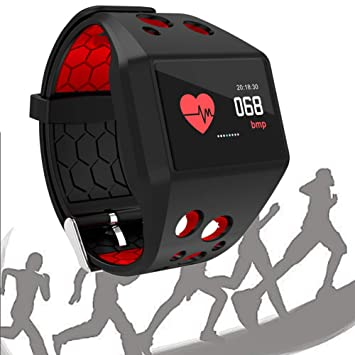Amazon.com: EnweTon Smart Watch, Fitness Tracker,Remote ...