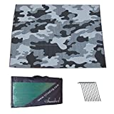 Snowbird Heavy Duty Mats Grey/Black Camouflage (9 ft. x 18 ft.) Review