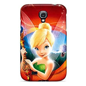 First-class Case Cover For Galaxy S4 Dual Protection Cover Tinker Bell