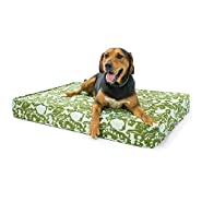 """Orthopedic Dog Bed - 5"""" Thick Supportive Gel Enhanced Memory Foam - Made in the USA 
