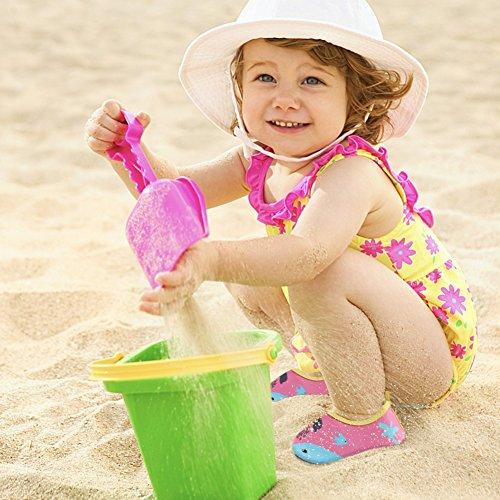 CIOR Männer Frauen und Kinder Quick-Dry Wasserschuhe Leichte Aqua Socken Für Beach Pool Surf Yoga Übung Delphin