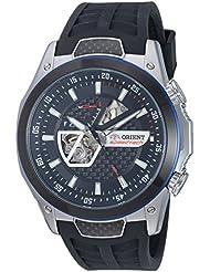 Orient Mens SDA05002B0 SpeedTech Automatic Analog Display Japanese Automatic Black Watch