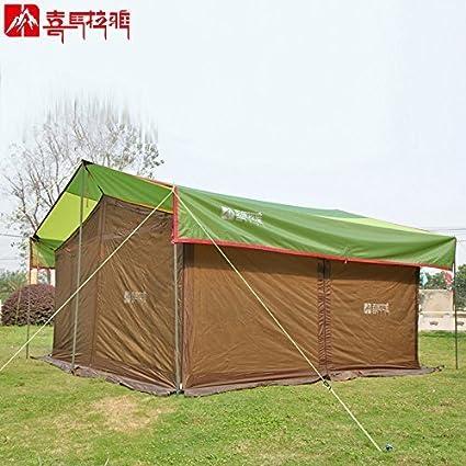 Amazon.com: Himalaya gran carpa camping tienda de campaña ...
