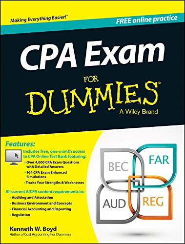 Pdf Education CPA Exam For Dummies
