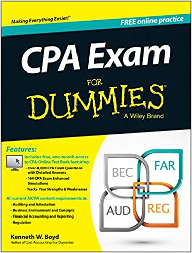Amazon cpa exam for dummies ebook kenneth w boyd kindle store cpa exam for dummies 1st edition kindle edition fandeluxe Images