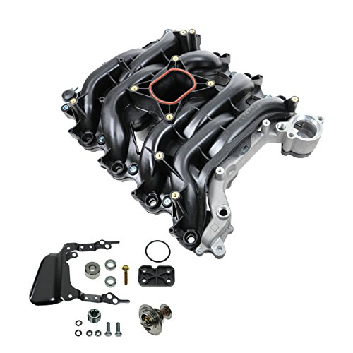 Intake Manifold w/Thermostat & Gaskets Kit for Ford Lincoln Mercury 4.6L V8