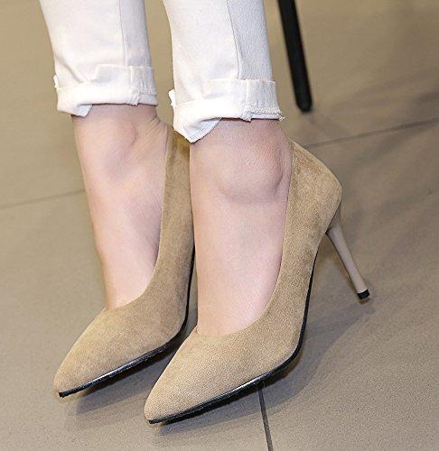 Simple Femme Escarpins Mariage Pour Chaussures Aisun Stiletto Abricot 5H1dqwZZ