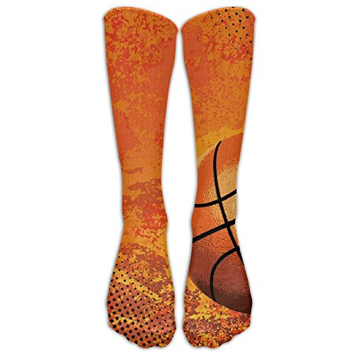 Basketball 1 Pair Over-The-Calf Socks Cosplay Socks Knee High Lightweight Ribbed Dress Stockings