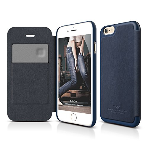 iPhone Case elago Leather Indigo