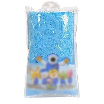 Toalla de Pelo Absorbente Toalla Suave de impresión rápido de la Toalla Seca Toallas de baño Secador de Pelo Azul: Amazon.es: Hogar