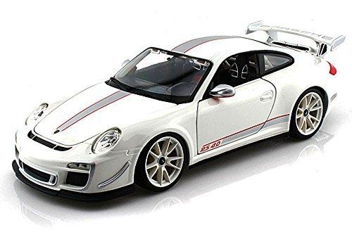- Porsche 911 GT3 RS 4.0, White - Bburago 11036 - 1/18 scale Diecast Model Toy Car