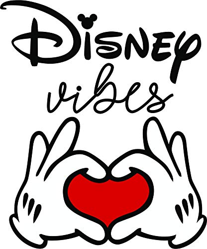 (Disney Vibes Vibe Quote Quotes Big Kid Always Fun Mickey Mouse Minnie Mouse Disneyland Park Fun Family Happiest Place On Earth Ears Wall Decals Decal Walls Stickers Sticker Rooms Size 20 x 16 inch)
