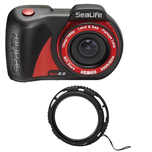 SeaLife Micro 2.0 32GB Underwater Camera w/ SL570 10x Close-Up Lens