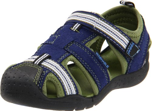 pediped Flex Sahara Sandal (Toddler/Little Kid),Blue,20 EU (5 M US Toddler)