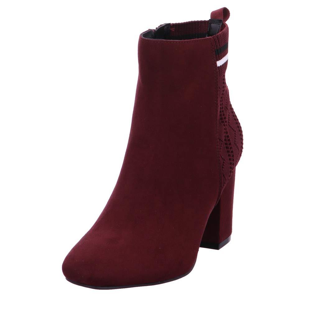 La Strada Damen Stiefeletten Stiefelette mit Blockabsatz 1705586 BORDO rot 559567