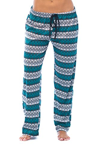 6333-10080-XS Just Love Women Pajama Pants - PJs - Sleepwear; Aztec Diamond - Juniors Lounge Pants
