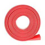 HOUTBY 100 Black 6mm 2:1 Heat Shrink Tubing Wire Wrap Assortment Tube