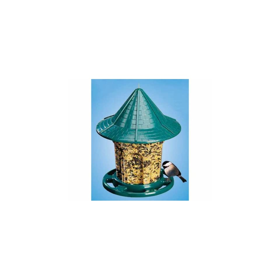 Green Cottage Feeder (Bird Feeders) (Seed Feeders)