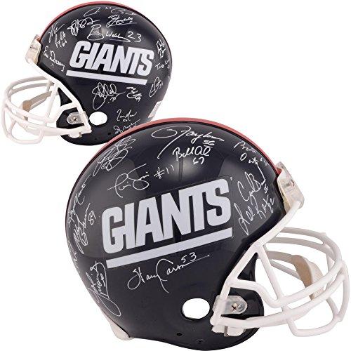 1986 New York Giants Team Autographed Riddell Throwback Pro-Line Helmet - Fanatics (Autographed Giants Pro Line Helmet)