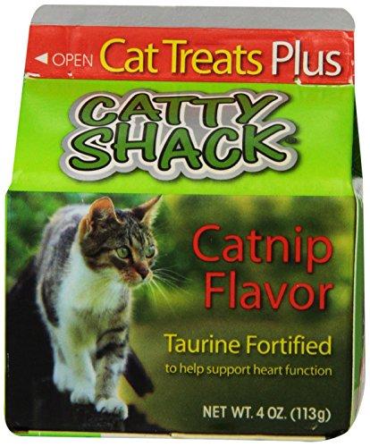 Ounce 4 Cartons (Jrb Foods Catty Shack Catnip Flavor Cat Treat, 4-Ounce, 8-Pack)