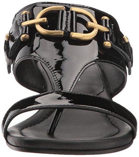 Donald J Pliner Women's Dayna Wedge Sandal Black 7BkmO