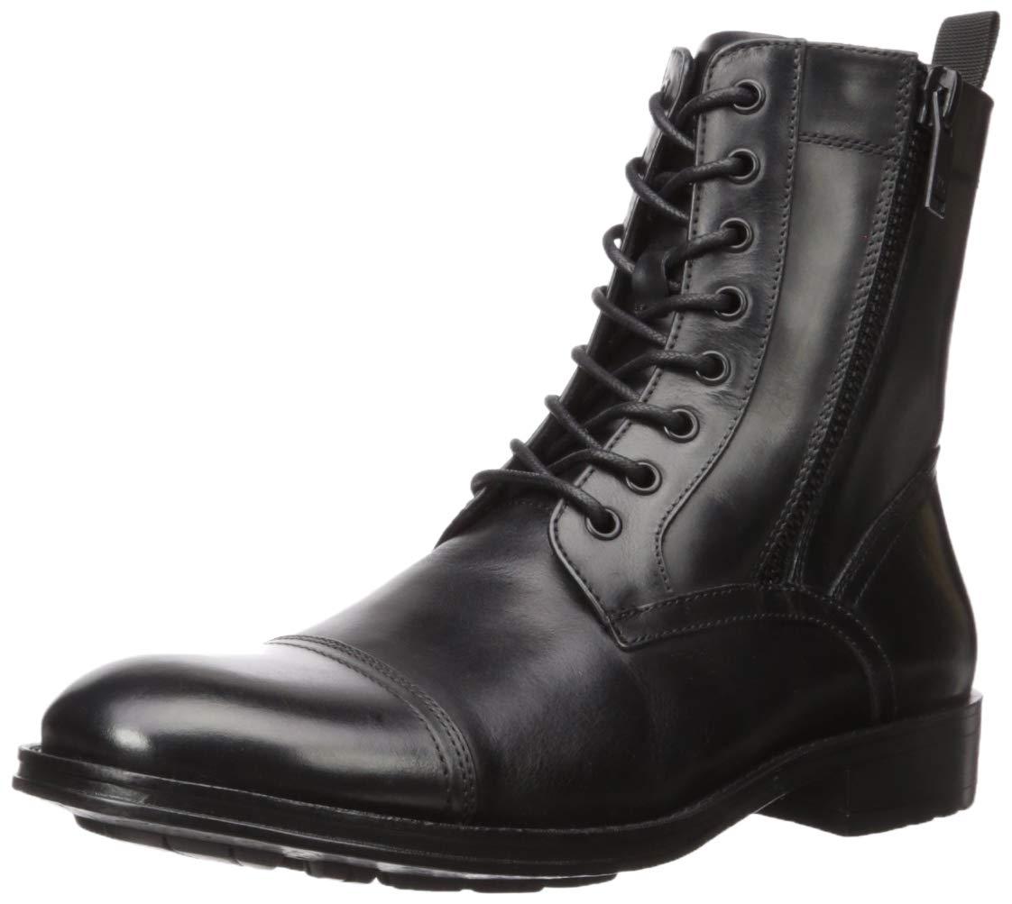 Kenneth Cole New York Men's Hugh Combat Boot, Black, 9.5 M US by Kenneth Cole New York