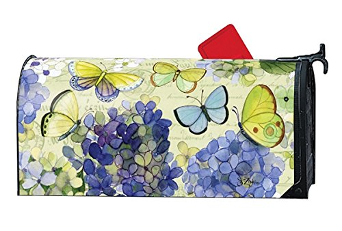 Hydrangea Beauties LARGE MailWraps Magnetic Mailbox Cover #21654 Beauty Hydrangea