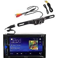 Pioneer AVH-200EX Car 6.2 LCD USB DVD Bluetooth Stereo FREE License Plate Camera