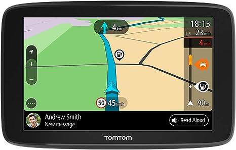 TomTom GPS para coche GO Basic, 5 pulgadas, con tráfico y prueba de radares gracias a TomTom Traffic, mapas de la UE, actualizaciones a través de WiFi, soporte reversible integrado: Tomtom: Amazon.es: