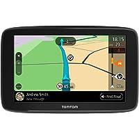 TomTom navigatie GO Basic, 5 inch, met updates via Wi-Fi, TomTom Traffic, kaart Europa, TomTom Road Trips, Zwart