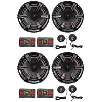 2-Pair MB Quart XC1-216 X-Line 6.5 360 Watt Car Audio Component Speaker Systems