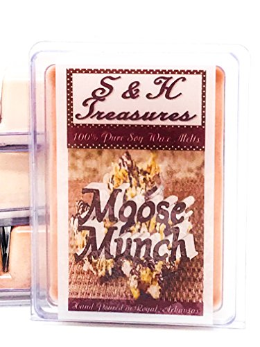 Moose Munch - Pure Soy Wax Melts - Christmas Scents - 1 pack (6 - Nut Condo