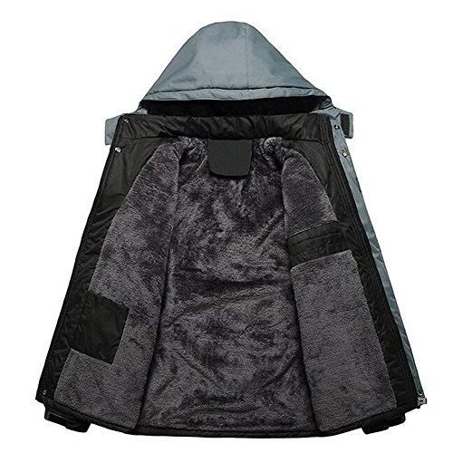 Coat Jacket Walking Uomo Windbreaker Elear Rivestimento Reg; Escursionismo Cotone Impermeabile Esterno Leggero In Blu Bicicletta Caldo Escursioni Coldproof Fleece 66Zw8