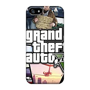 Defender Case With Nice Appearance (grand Theft Auto 5) For Iphone 5/5s