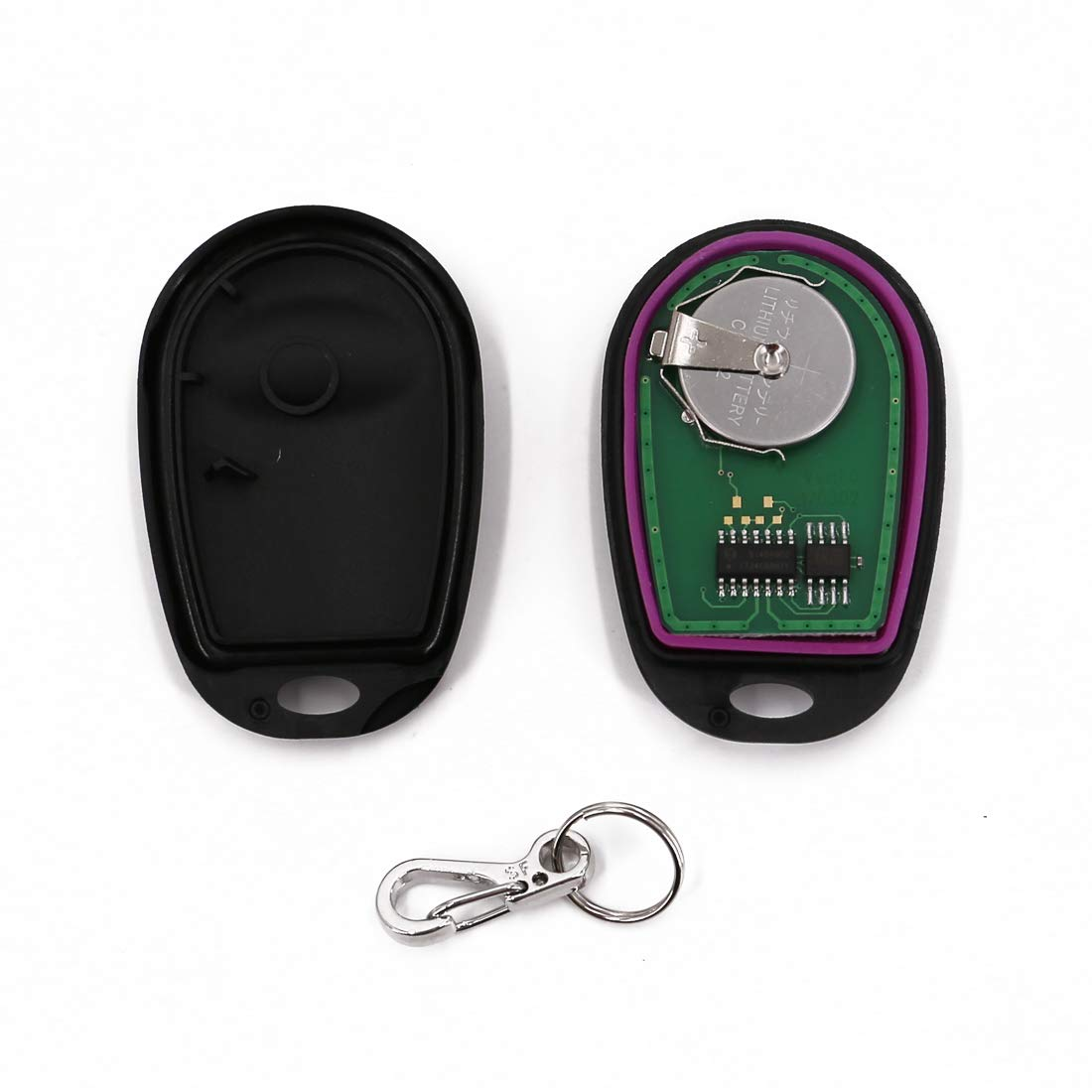 UTSAUTO Key Fob Keyless Entry Remote Replacement Keyless Entry Fits Toyota Tacoma Tundra Sienna Sequoia Highlander GQ43VT20T 3 Btn