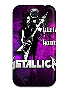 New Snap-on Skin Case Cover Compatible With Galaxy S4- Metallica