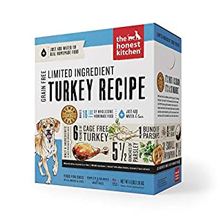 The Honest Kitchen Limited Ingredient Dehydrated Grain Free Turkey Dog Food 4 lb - Marvel