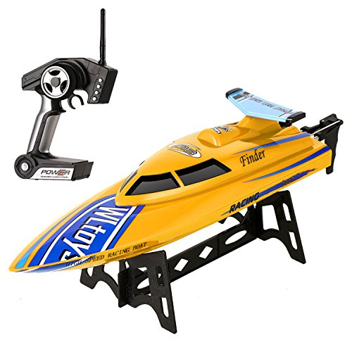 Funmily RC Electric Racing Boat 24KM/H High Spe...
