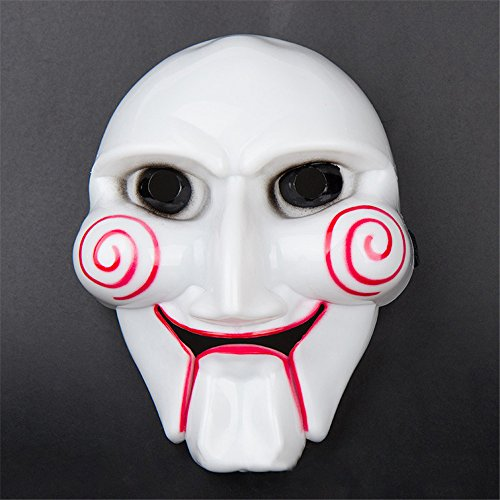 Halloween Party Mask Cosplay Disgusting Face Mask Terror Mask Head Mask for Any Occasion, Theme Party, Birthday Party, Family Gathering ( White) by Hisoul (Image #1)