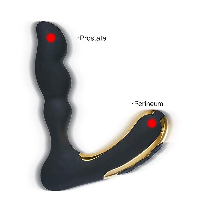 7 opinioni per Vibratore Prostata Massaggiatore,100% Impermeabile, Stimolatore della