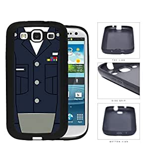 US Airforce Formal Uniform Blue and Gray Hard Rubber TPU Phone Case Cover Samsung Galaxy S3 I9300