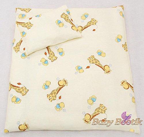 2 Pcs Crib//Cradle//Pram Bedding Set Pattern 12 70x80cm Duvet Cover /& Pillowcase