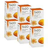 Tazo Wild Sweet Orange Herbal Tea, 20 ct (Pack of 6)
