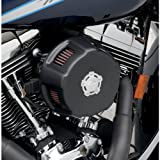Vance & Hines Air Intake with Duke Cover - Black 40009
