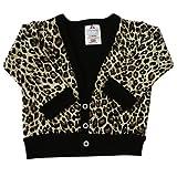 Babywearuk British Made Leopard Print Baby Cardigan