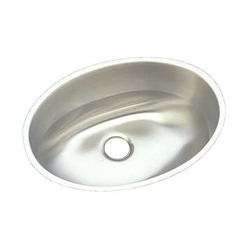 stainless steel bathroom sinks. Elkay Asana ELUH1511 Single Bowl Undermount Stainless Steel Bathroom Sink